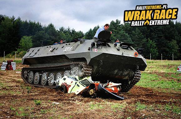 DESTRUKCYJNE CZOŁGI WRRE RADOSTOWICE - WRAK RACE RALLY EXTREME 01.08.2015!!