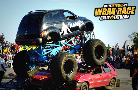 POKAZY MONSTER TRUCKÓW - MONSTER TRAUCKI - ZDJĘCIA - WRRE RADOSTOWICE - WRAK RACE RALLY EXTREME 01.08.2015!!